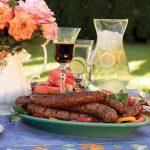 Picnic Sausage Plate